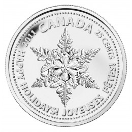 2011 Canada 25 Cent Coin - Snowflake