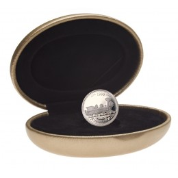 1999 Sterling Silver 25 Cent Coin - Millennium Series: June, From Coast to Coast