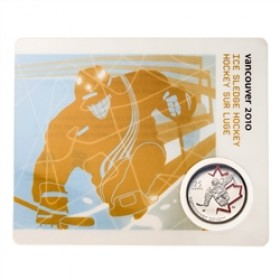 2009 Canada 25 Cents Vancouver 2010 Olympic Sports Card - Ice Sledge Hockey