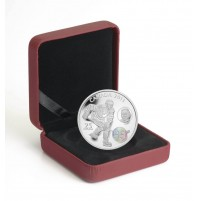 2011 Fine Silver 25 Dollar Coin - Wayne & Walter Gretzky