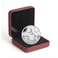 2013 Fine Silver 25 Dollar Coin - Canada: An Allegory