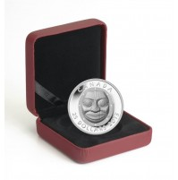 2013 Fine Silver 25 Dollar Coin - Grandmother Moon Mask