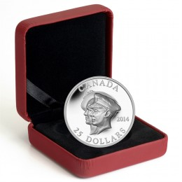 2014 Canada Fine Silver 25 Dollar Coin - 75th Anniversary of the First Royal Visit