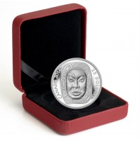 2014 Fine Silver 25 Dollar Coin - Matriarch Moon Mask