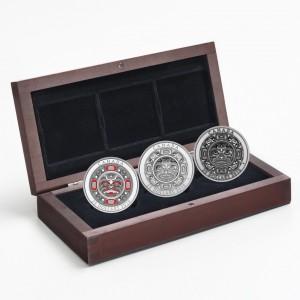 2015 Canada Fine Silver $25 Dollar 3-Coin Set - Singing Moon Mask