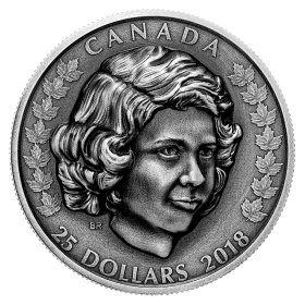 2018 Canadian $25 Her Majesty Queen Elizabeth II: The Young Princess - 1 oz Fine Silver Coin