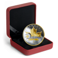 2019 Canadian $25 Timeless Icons: Loon - 1 oz Fine Silver & Gold-plated Piedfort Coin