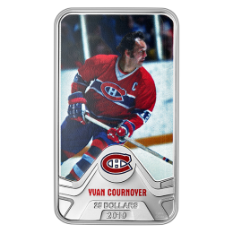 2019 Canadian $25 NHL® Original Six™: Montreal Canadiens®, Yvan Cournoyer - 1.5 oz Fine Silver Coin