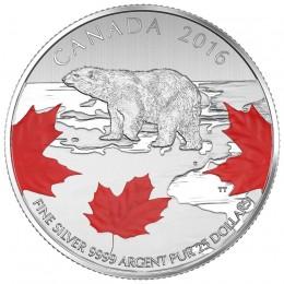 2016 Canada Fine Silver $25 Coin - $25 for $25: True North
