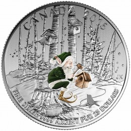 2016 Canada Fine Silver $25 Coin - $25 for $25: Woodland Elf