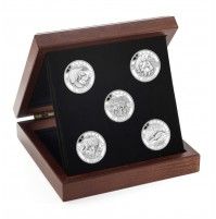 2013 Fine Silver 25 Dollar Coin Set - O Canada Series