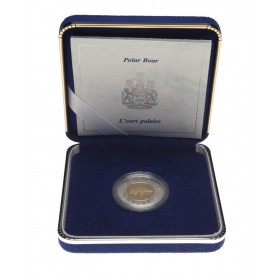 1996 Canadian $2 Polar Bear Toonie Proof Bi-Metallic Gold Coin