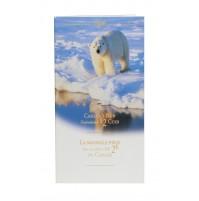 1996 Specimen 2 Dollar Coin in Folder - Polar Bear