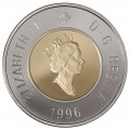 1996 Canadian $2 Canada's New Uncirculated Toonie Coin in Presentation Card