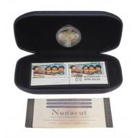 1999 2 Dollar Coin & Stamp Set - Nunavut
