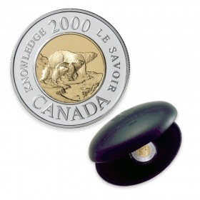 2000 Knowledge Canada Proof Like Set Uncirculated Original RCM Issue