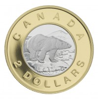 2006 Proof 2 Dollar Gold Coin - 10th Anniversary of Canada's $2 Coin