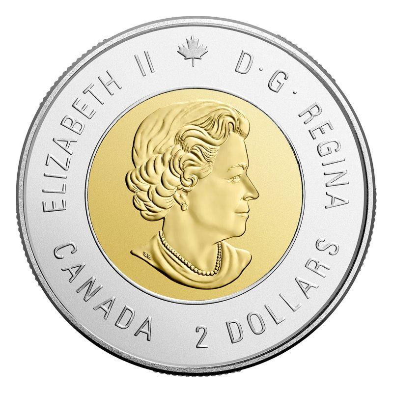 Canada 2017 $2 Vimy Ridge Brilliant Uncirculated Toonie