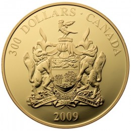 2009 Canada 14-karat Gold $300 Coin - Prince Edward Island Coat of Arms