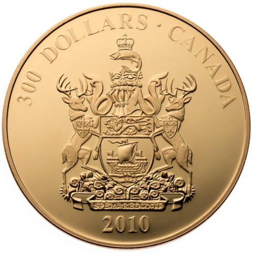 coats of arms of canada coin set