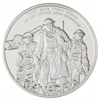 2006 Sterling Silver 30 Dollar Coin - National War Memorial