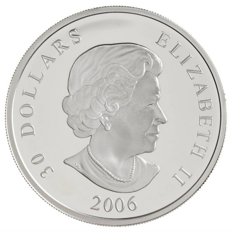 2006 Canada Sterling Silver $30 National War Memorial
