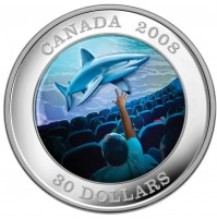 2008 Sterling Silver 30 Dollar Coin - IMAX Canadian Achievements Series