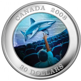 2008 Canada Sterling Silver $30 Coin - IMAX Canadian Achievements Series