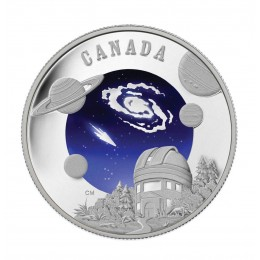 2009 Canada Sterling Silver $30 Coin - International Year of Astronomy