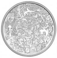 2014 Fine Silver 30 Dollar Coin - Canada Through the Eyes of Tim Barnard