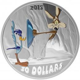 """Canada 2015 $10 Looney Tunes /""""I Tawt I Taw a Putty Tat!/"""" Tweedy Silver Coin"""