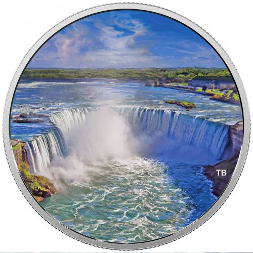 2018 Canadian $30 Fireworks at the Falls - 2 oz Fine Silver Coin (Glow-In-The-Dark)