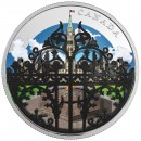 2018 Canada Fine Silver $30 Coin - The Queen's Gate: Formal Entrance to Parliament Hill