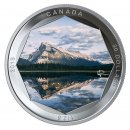 2019 Canadian $30 Peter McKinnon Photo Series: Mount Rundle 2 oz Fine Silver Coloured Coin