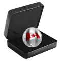 2019 Canadian $30 The Fabric of Canada - 2 oz Fine Silver Coloured Coin