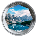 2019 Canadian $30 Peter McKinnon Photo Series: Moraine Lake - 2 oz Fine Silver Coloured Coin