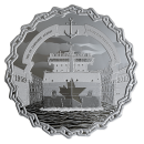2019 Canadian $30 60 Years of Prominence: The Saint Lawrence Seaway - 2 oz Fine Silver Coin