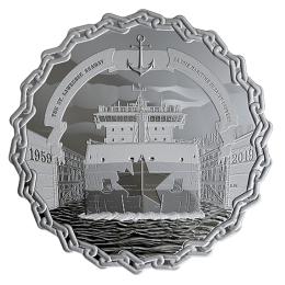2019 (1959-) Canadian $30 The St. Lawrence Seaway 60 Years of Prominence 2 oz Fine Silver Coin
