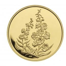 2004 Canada Pure Gold $350 Coin - Yukon Territory Fireweed