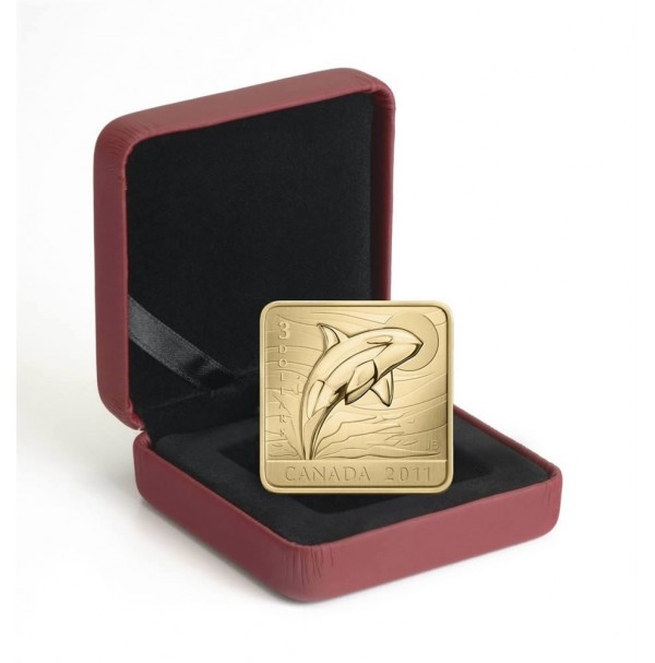2011 Fine Silver 3 Dollar Coin - Wildlife Conservation Series: Orca Whale