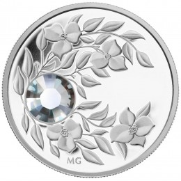 2012 Canada Fine Silver $3 Coin - Birthstone Collection: April, Diamond