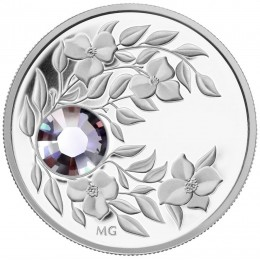 2012 Canada Fine Silver $3 Coin - Birthstone Collection: June, Alexandrite
