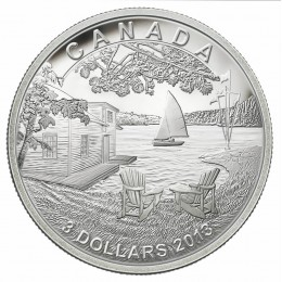 2013 Canada Fine Silver $3 Coin - Martin Short Presents Canada
