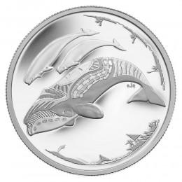 2013 Canada Fine Silver $3 Coin - Life in the North