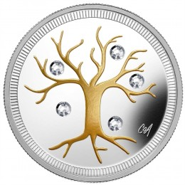 2014 Canada Fine Silver $3 Coin - Jewel of Life