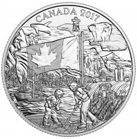 2017 Fine Silver 3 Dollar Coin - Spirit of Canada
