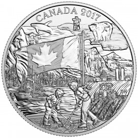 2017 Canadian $3 Spirit of Canada - Fine Silver Coin