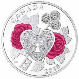 2018 Canada Fine Silver $3 Coin - Celebration of Love