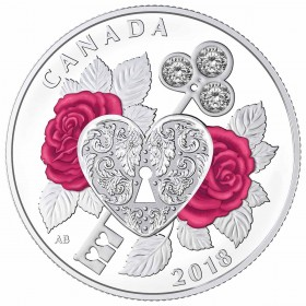 2018 Canada Fine Silver $3 Coin - Celebration of Love