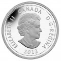 2013 Fine Silver 4 Dollar Coin - Heroes of 1812, Laura Secord